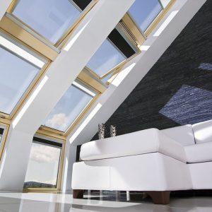 Okna dachowe i schody strychowe